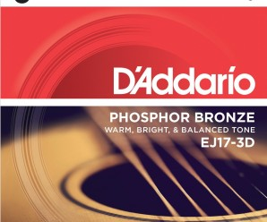 d'addario acoustic guitar string